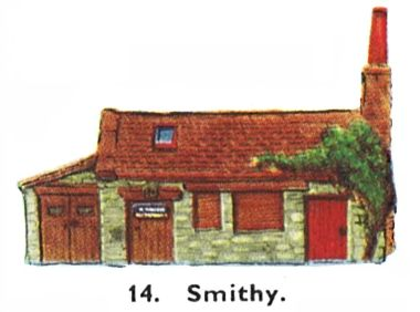 Smithy, or Blacksmith's Cottage
