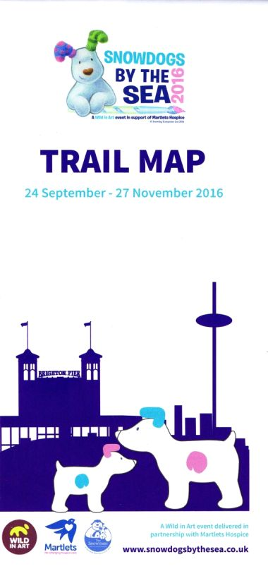 Snowdogs by the Sea 2016, Trail Map