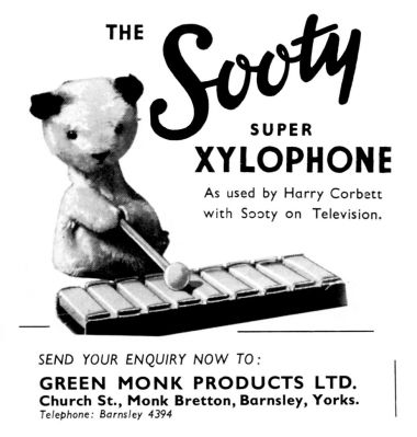 """The Sooty Xylophone"", Games and Toys 1956"
