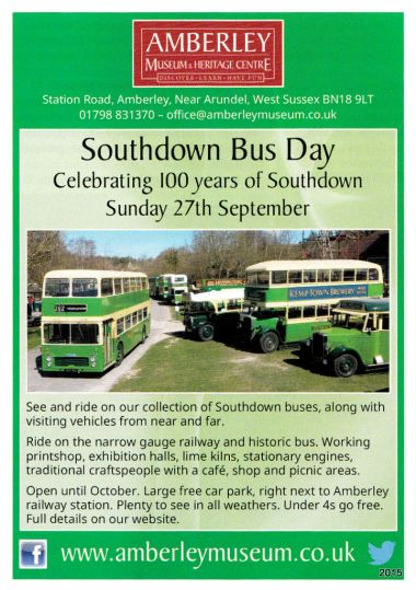 Southdown Bus Day, Amberley, September 2015