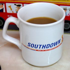 Mug with the Southdown logo, Stagecoach Group era