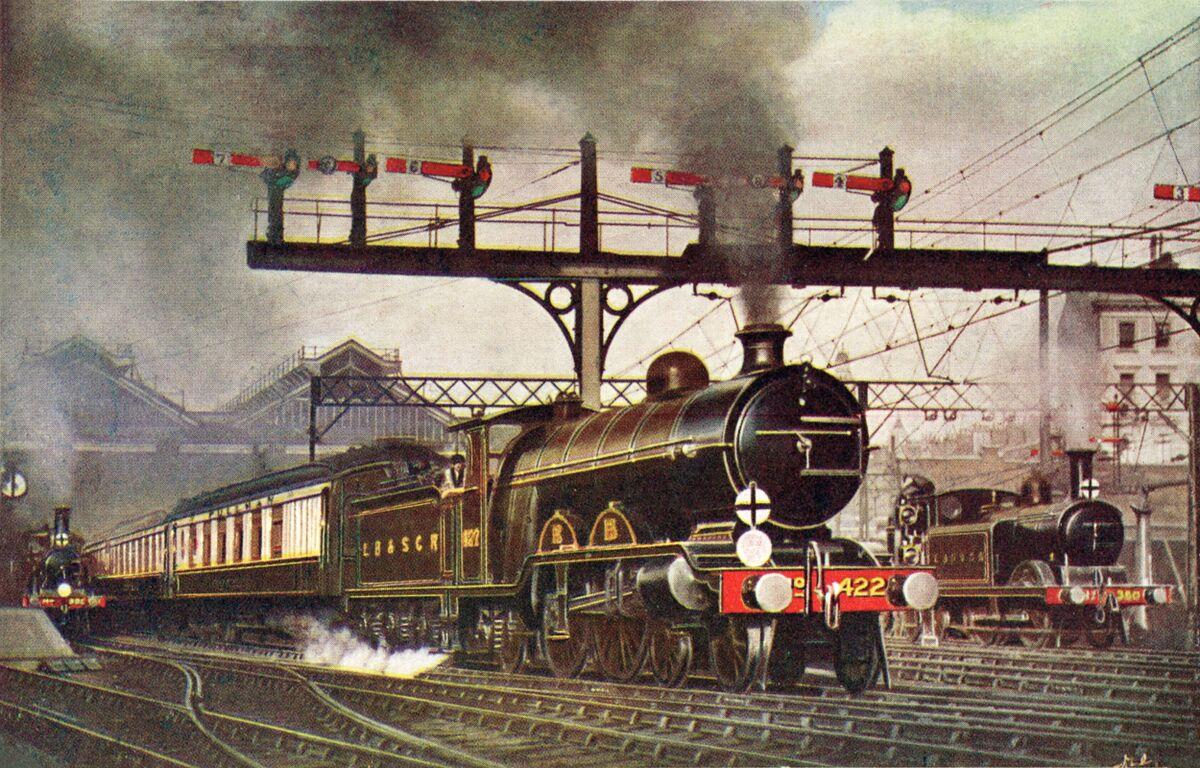 Southern Belle all-Pullman train, London-Brighton (1908-1930s)