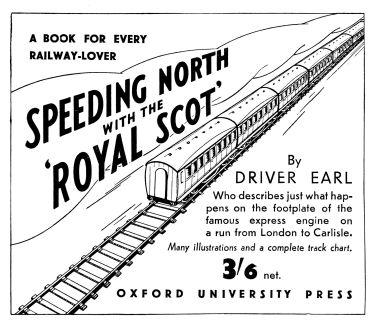 "1939: ""Speeding North with the Royal Scot"""