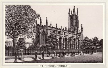 1888: Engraving of St. Peter's Church