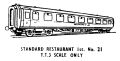 Standard Restaurant First Class carriage, TT, lineart (Kitmaster No21).jpg