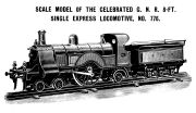 Stirling Single locomotive 776, Bassett-Lowke 1904 catalogue, cropped.jpg