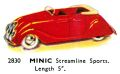 Streamline Sports car, Minic 2830 (TriangCat 1937).jpg