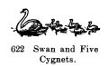 Swan and Five Cygnets, Britains Farm 622 (BritCat 1940).jpg