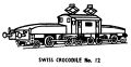 Swiss Crocodile locomotive, lineart (Kitmaster No12).jpg