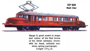 märklin model railway locomotives modelleisenbahnlokomotiven  1936 swiss \