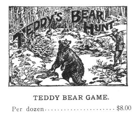 1907:Teddy's Bear Hunt game