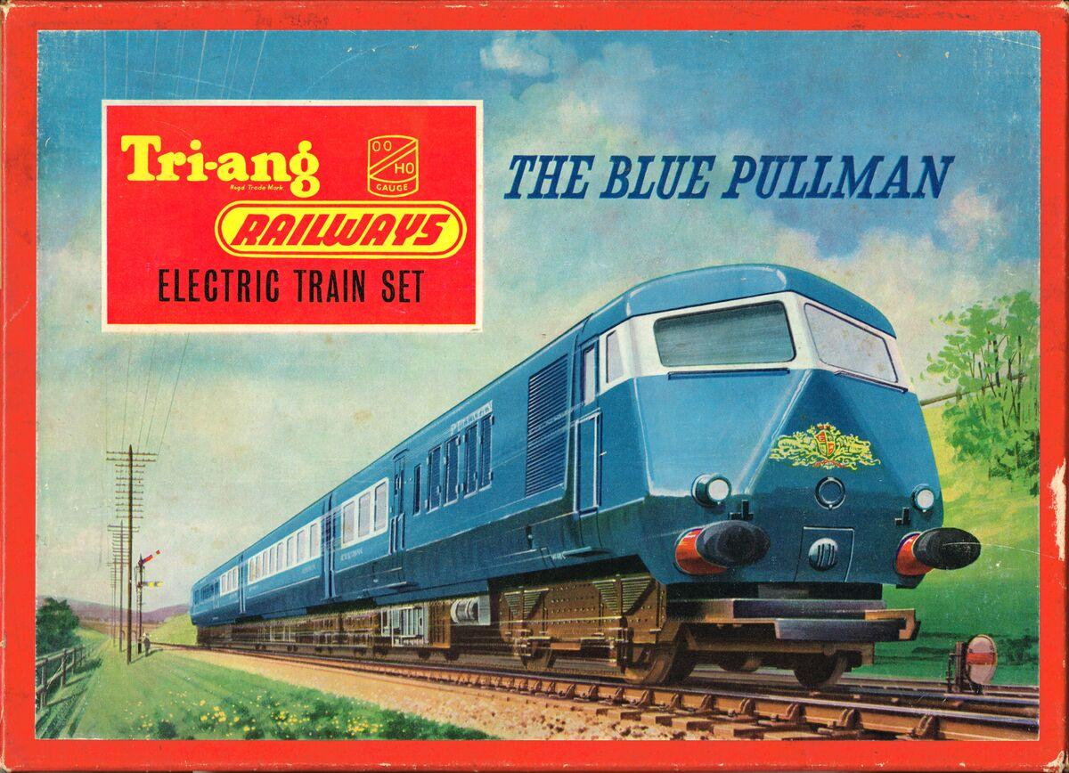 Jump Box For Cars >> Blue Pullman Train Set (Tri-ang RS52) - The Brighton Toy ...
