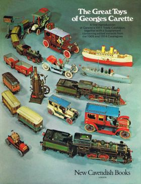 "Front cover of ""The Great Toys of Georges Carette (1975 catalogue reproductions)"