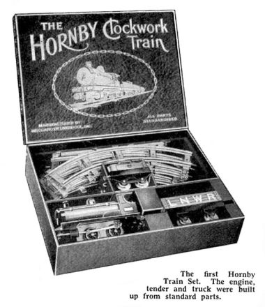 """The Hornby Clockwork Train, boxed set"