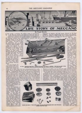 "1932: ""The Life Story of Meccano"" (Meccano Magazine)"