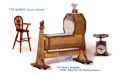 The Royal Nursery - Cradle, Baby Chair and Weighing Machine, The Queens Dolls House postcards (Raphael Tuck 4504-2).jpg