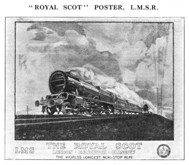 1928: LMS Royal Scot poster