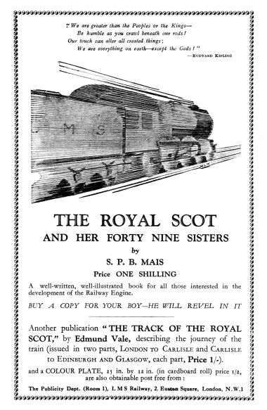 "1928: ""The Royal Scot and her 49 Sisters"""