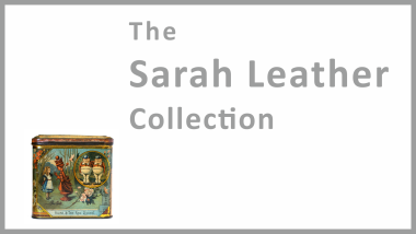 The Sarah Leather Collection, 2015 launch event splash screen