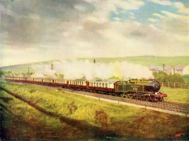 ~1925: Southern Belle all-Pullman train (F. Moore)