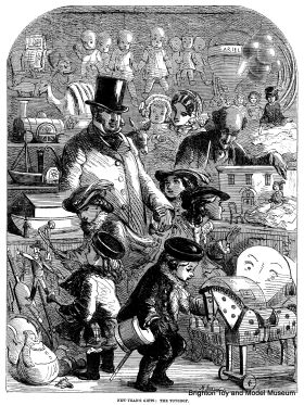 "1860: ""New-Year's Gifts: The Toyshop"", by Mason Jackson"