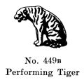 Tiger (Performing), Britains Circus 447 (BritCat 1940).jpg