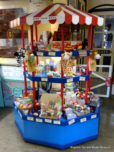 The museum shop's Toy Carousel
