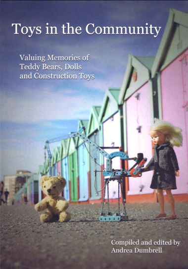 "2016: Front cover of the ""Toys in the Community"" book, produced in 2016"