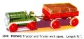 Tractor and Trailer with cases, Minic 2848 (TriangCat 1937).jpg