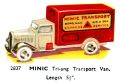 Transport Van, Minic 2837 (TriangCat 1937).jpg