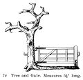 Tree and Gate, Britains Farm 7F (BritCat 1940).jpg