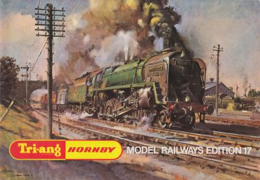 "1971: Tri-ang Hornby catalogue, Edition 17, ""Model Railways"", with artwork by Terence Cuneo"