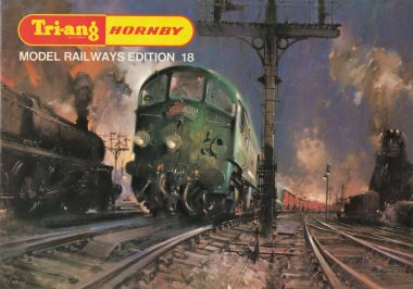 1972: Tri-ang Hornby catalogue, Edition 18, with artwork by Terence Cuneo