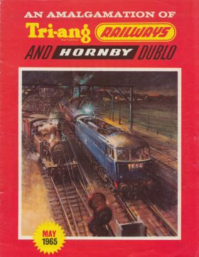 1965: Eight-page catalogue brochure for the new Tri-ang Hornby range