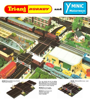 1966: Tri-ang Hornby and Minic Motorways