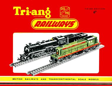 1957: Third Edition of the Tri-ang Railways catalogue
