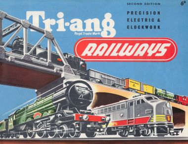 1956: Second Edition of the Tri-ang Railways catalogue (16 pages)