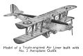 Triple-engined Airliner, No2 Aeroplane Outfit (1939 catalogue).jpg