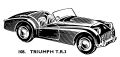 Triumph TR3 sports car, Spot-On Models 108 (SpotOn 1959).jpg