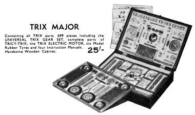 "1938: ""Trix Major"" Construction Set No.1"