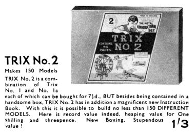 1938: Trix Construction Set No.2