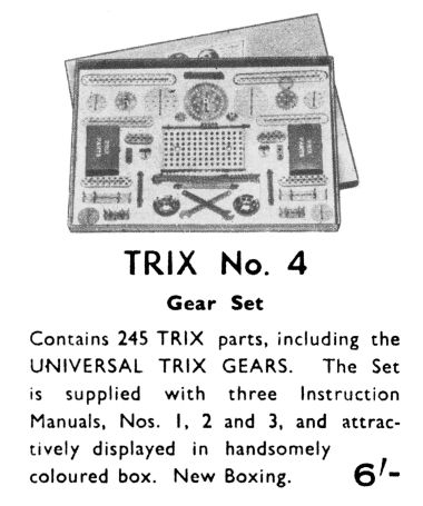 1938: Trix Construction Set No.4