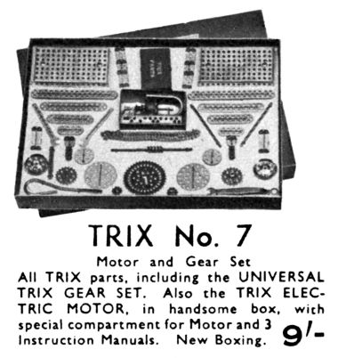 Trix Construction Set No.7
