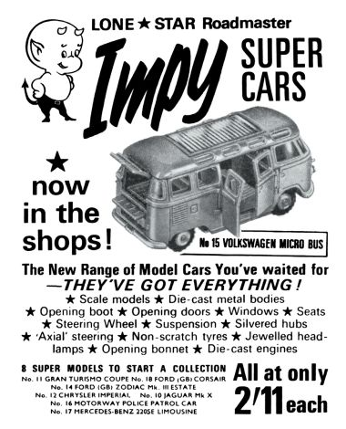 impy toys lone star roadmaster impy super cars