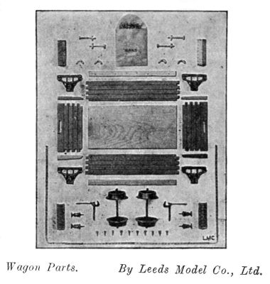 Leeds kit of parts for a railway wagon