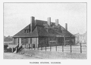 "Watford Station, ""Metro-land"", built 1925"