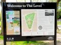 Welcome to The Level, information board (TheLevel 2014-05).jpg