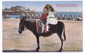 West Pier and Donkey (postcard, old, unsourced).jpg