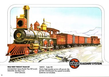 1976: Wild West Freight Train Set 54053