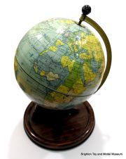 Metal World Globe, 1920s/1930s, Chad Valley